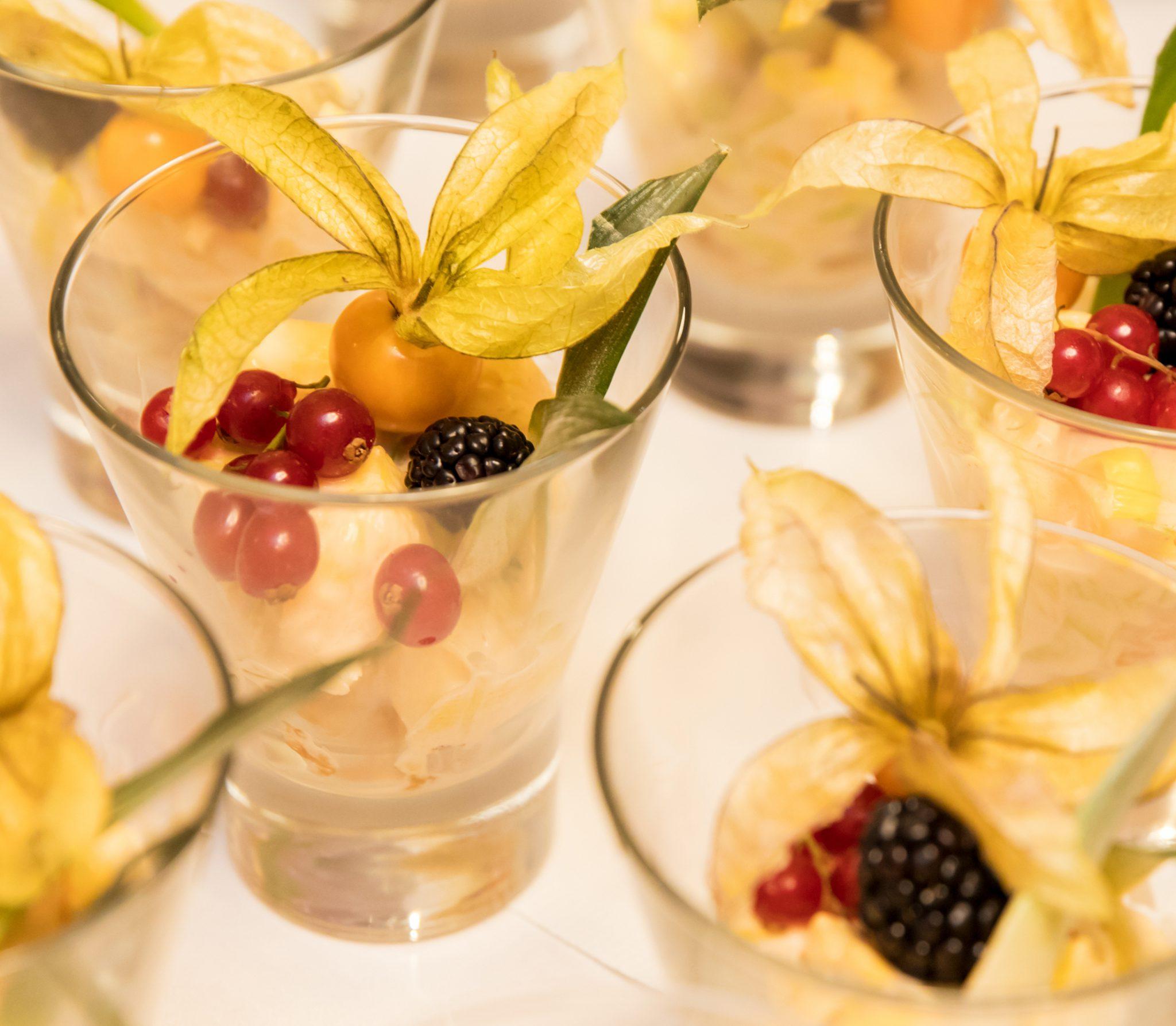 Desserts und leckere Gerichte gibt es bei Zimmermanns Restaurant in Bad Wildungen