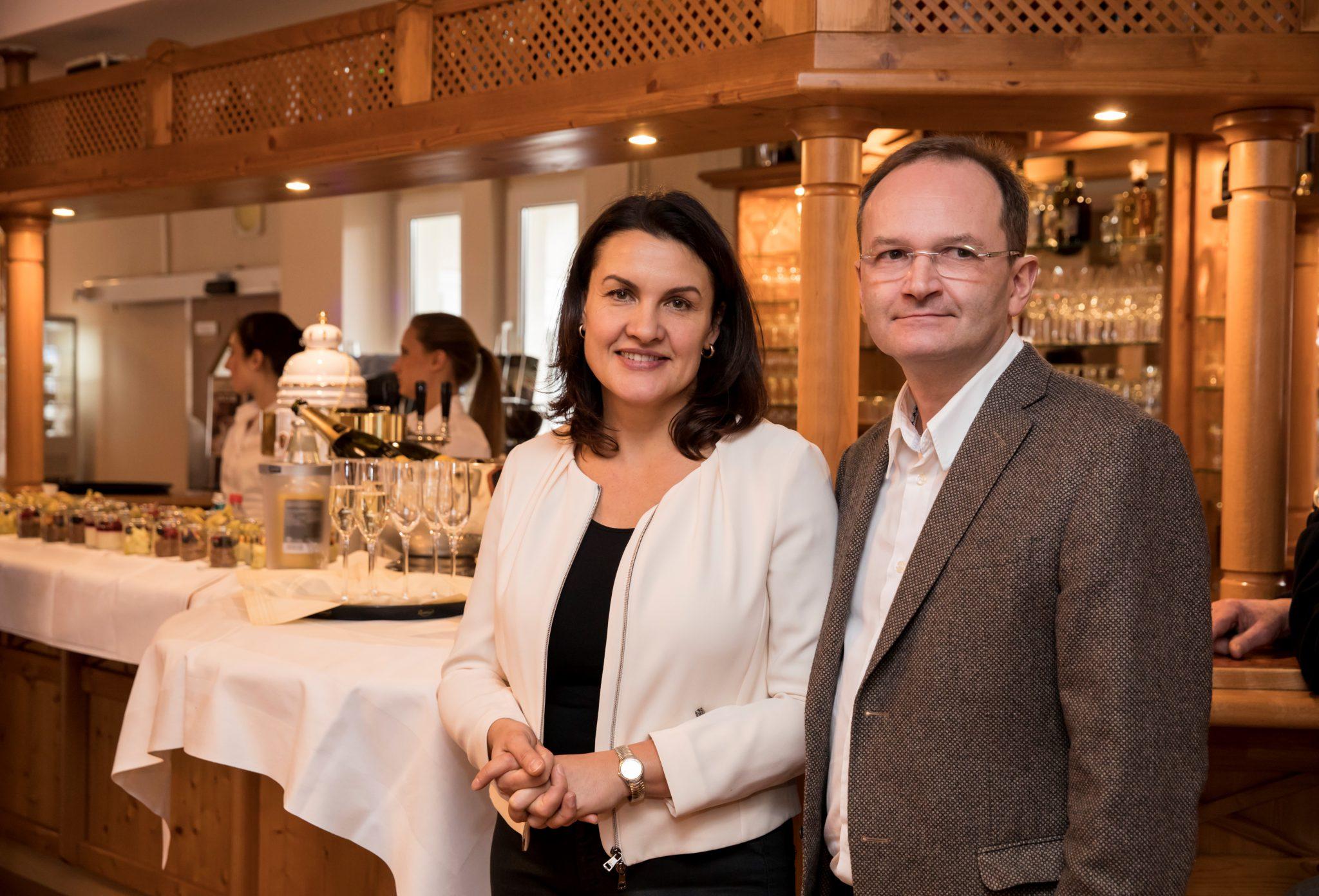 Olga und Thomas Zimmermann begrüßen ihre Gäste aus der Ferienregion Edersee