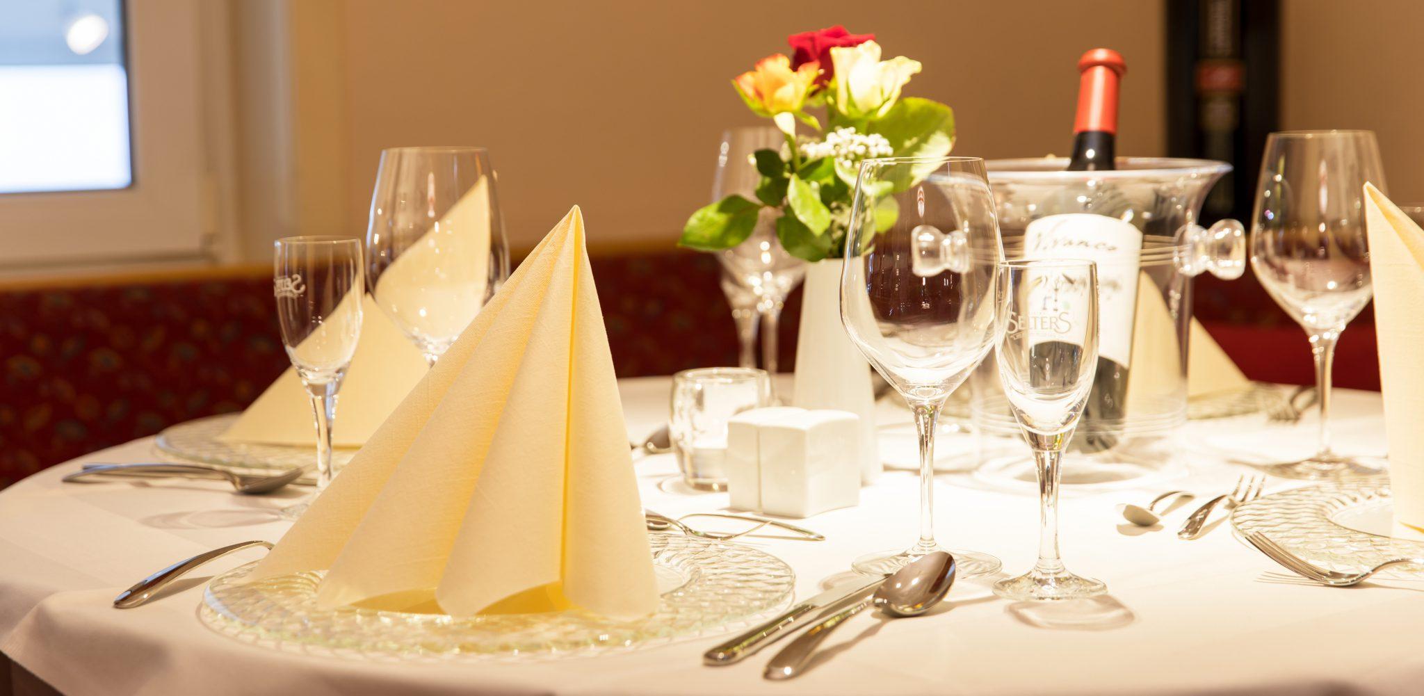 Gepflegt essen gehen für Gäste aus Bad Wildungen, Fritzlar, Waldeck und Umgebung